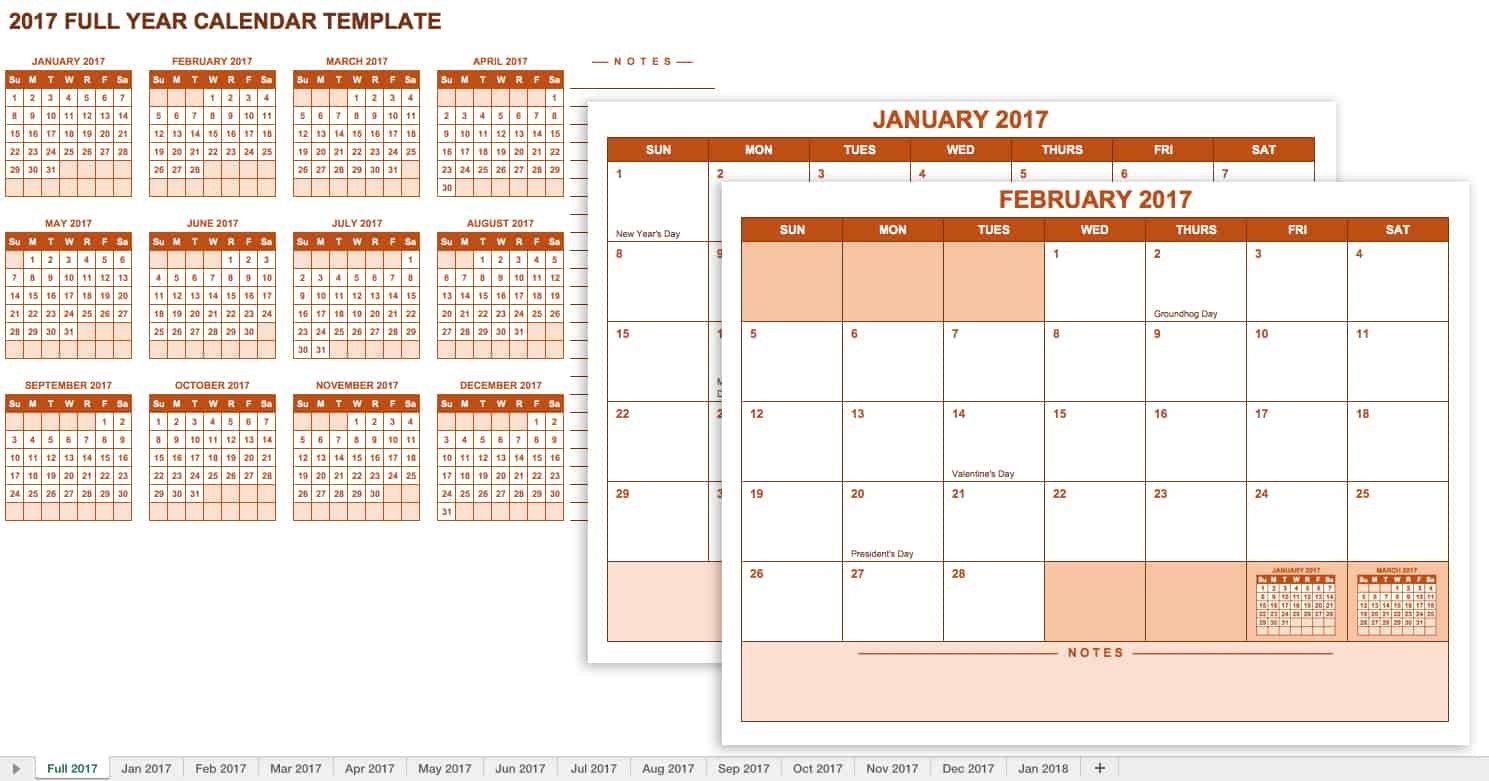 15 Free Monthly Calendar Templates | Smartsheet Free 12 Month Calendar Template For Expiry Dates