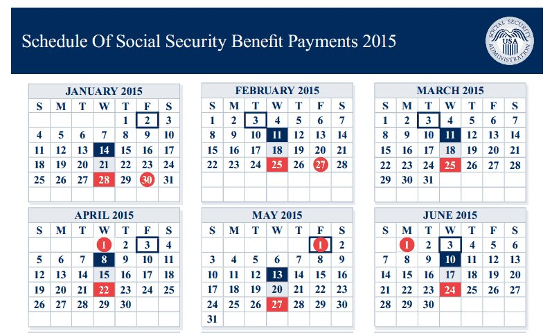 2016 Calendar For Ssi Payday | Calendar Template 2020 Military Short Timer Calendar Pdf