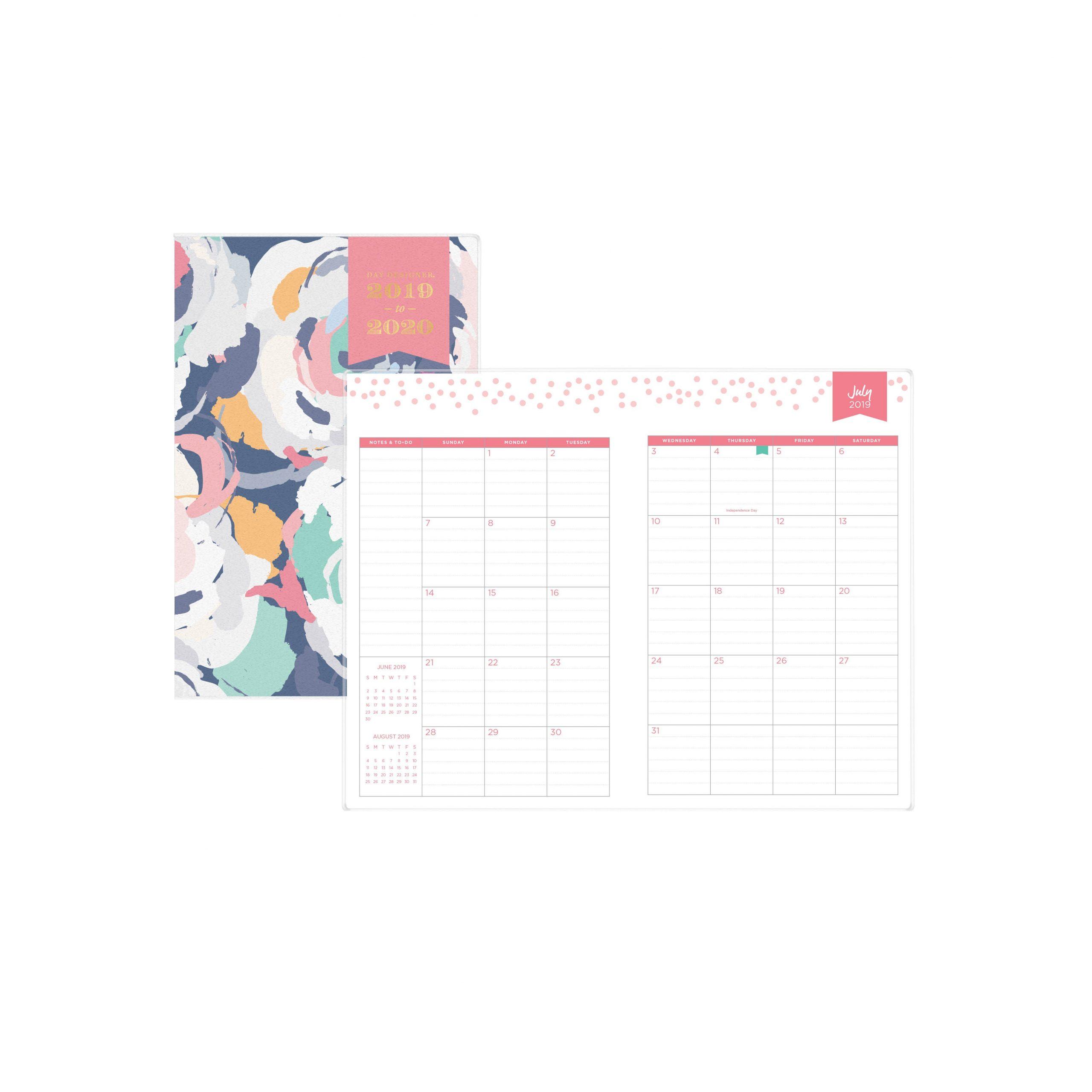 2020 Calendar For 5.5 X 8.5 | Calendar Template Printable 8.5 X 5.5 Calendar
