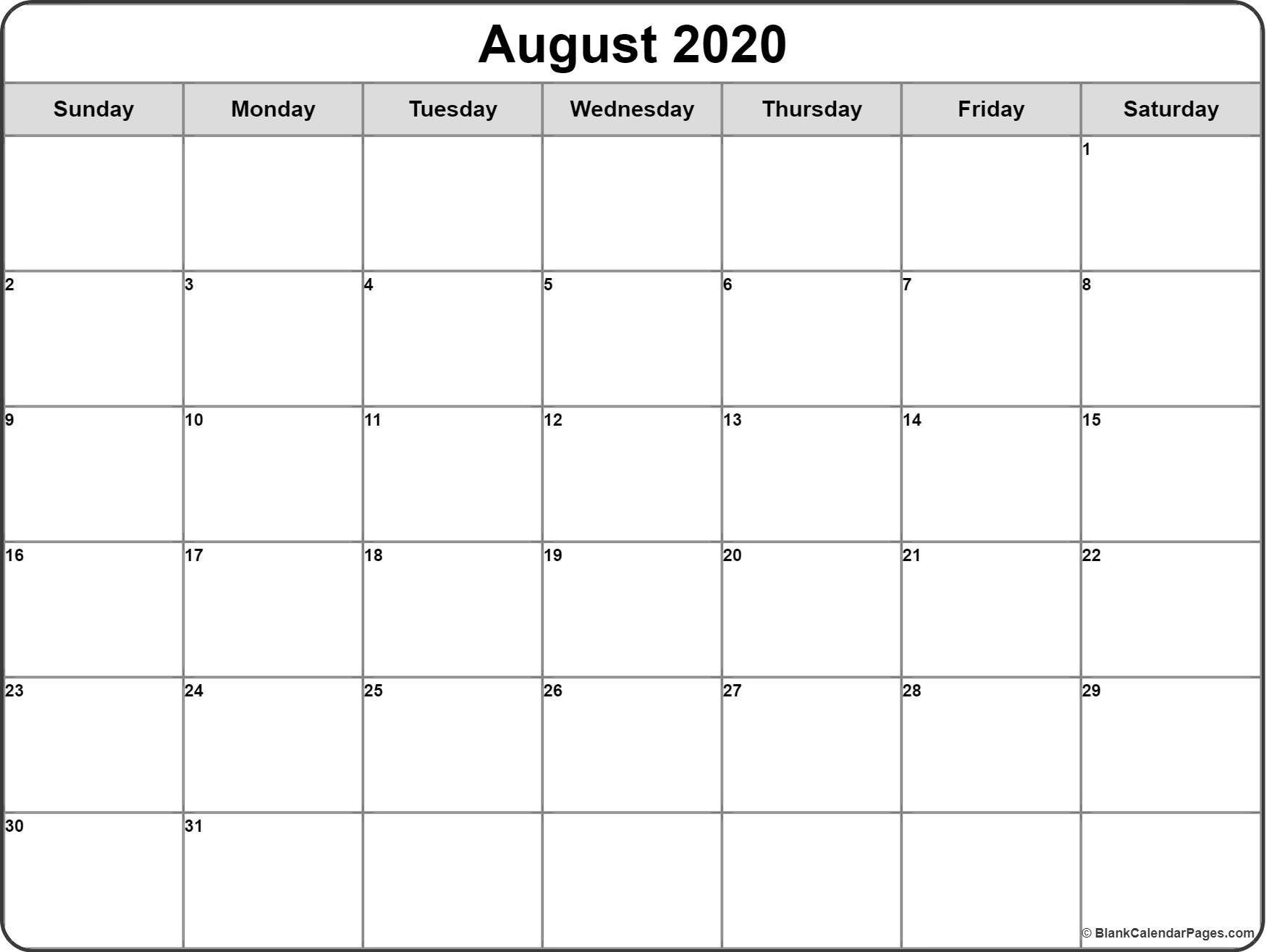 2020 Calendar Monday Thru Friday Monthly | Calendar Mon Thru Fri Weekly Planner Printable