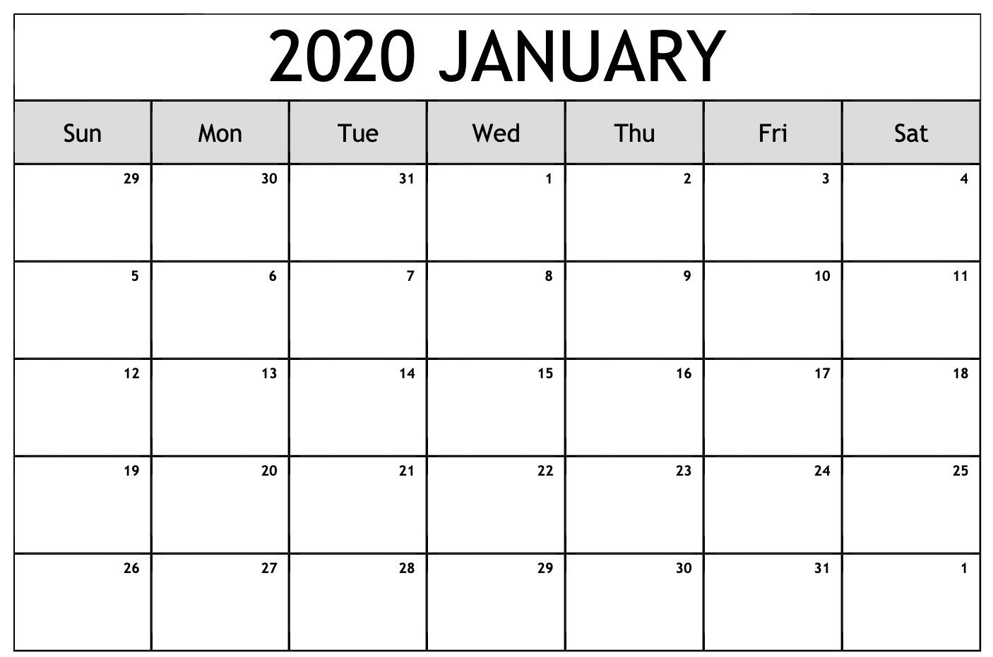 2020 Calendar You Can Edit | Calendar Printables Free Calendars That You Can Edit