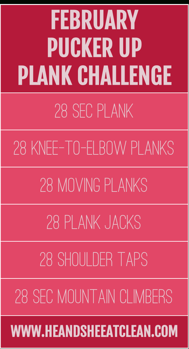 28-Day Plank Challenge With Free Printable Calendar (With Printable Plank Challenge Calendar