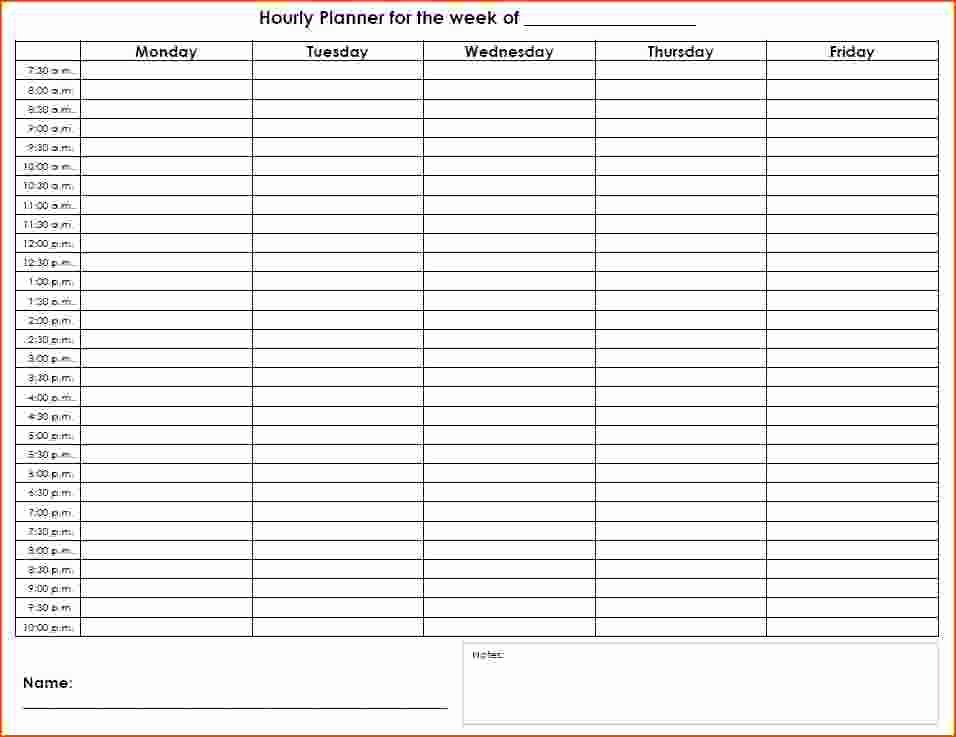 30 Agenda With Time Slots | Example Document Template Free Weekly Agenda Templates With Time Slots