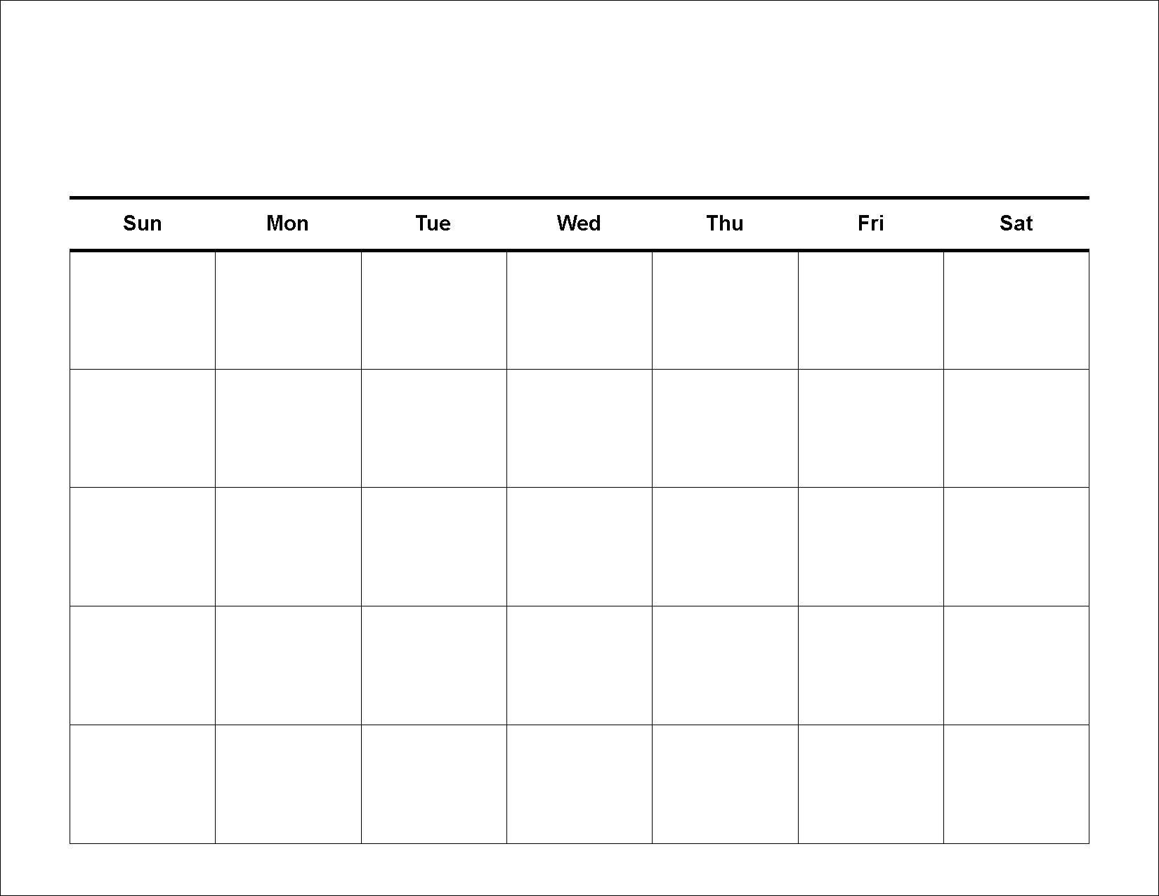 30 Day Blank Calendar Template 2 Week Blank Calendar Free Printable 2 Week Calendar