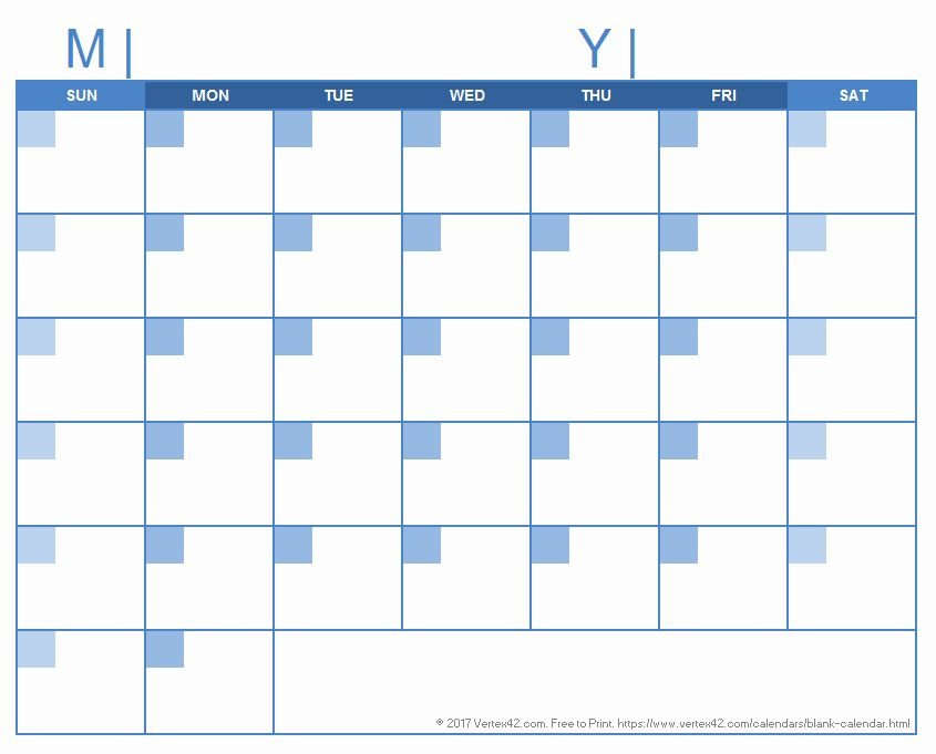 30 Day Calendar Template Word In 2020 (With Images Printable Blank 30 Day Calendar