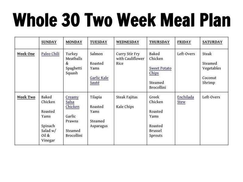 45+ Printable Weekly Meal Planner Templates 2 Week Planner Printable