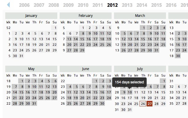 5 Year Printable Retirement Countdown Calendar | Calendar Retirement Countdown Calendar Printable