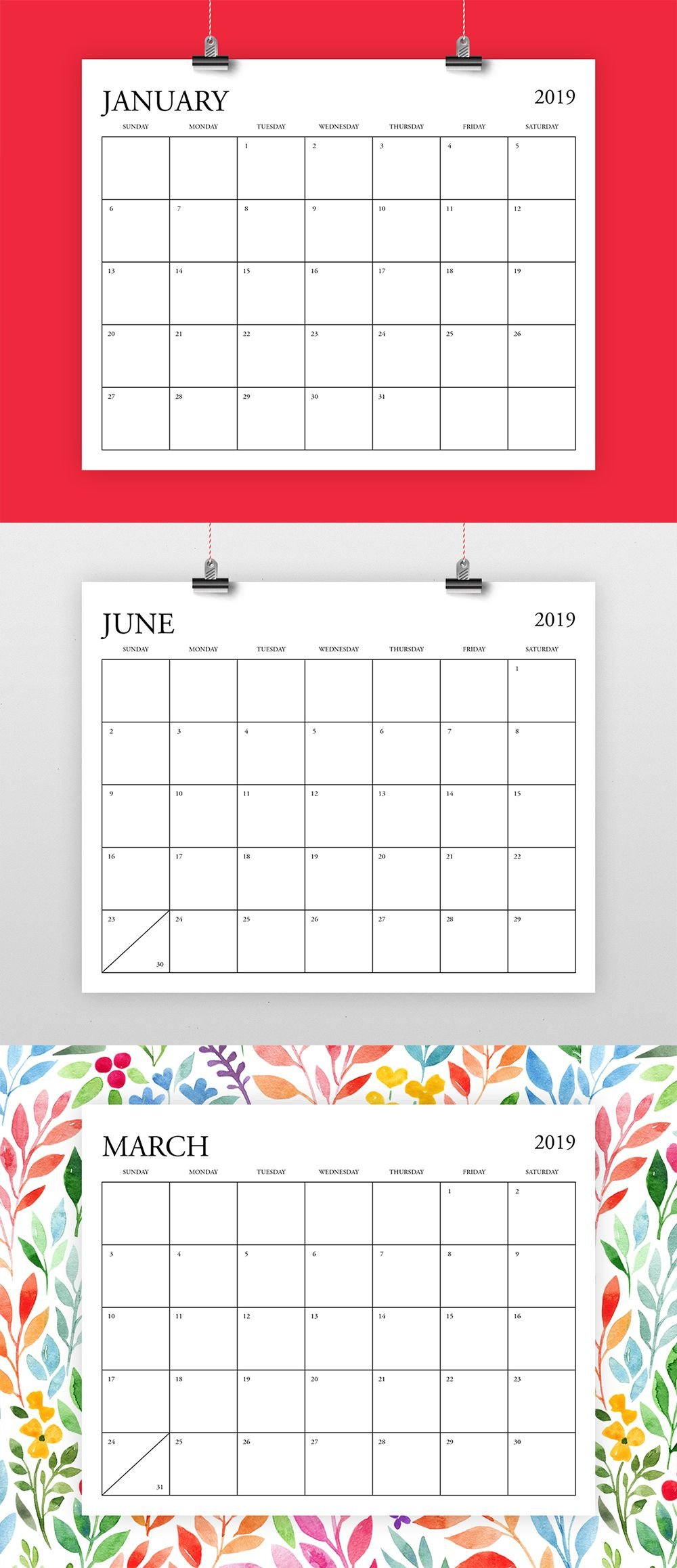 8.5 X 11 Calendar Template | Example Calendar Printable 8.5 X 11 Printer Friendly Calendar