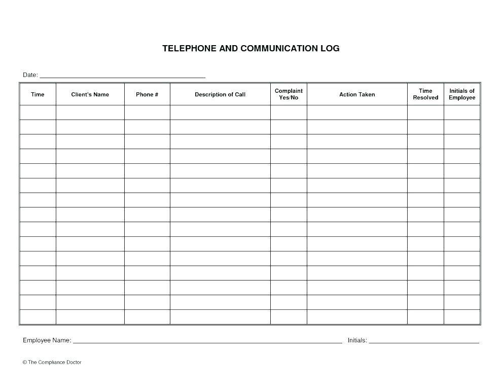 9-10 Communication Log Template Word | Lascazuelasphilly Newsletter Calendar Template Excel