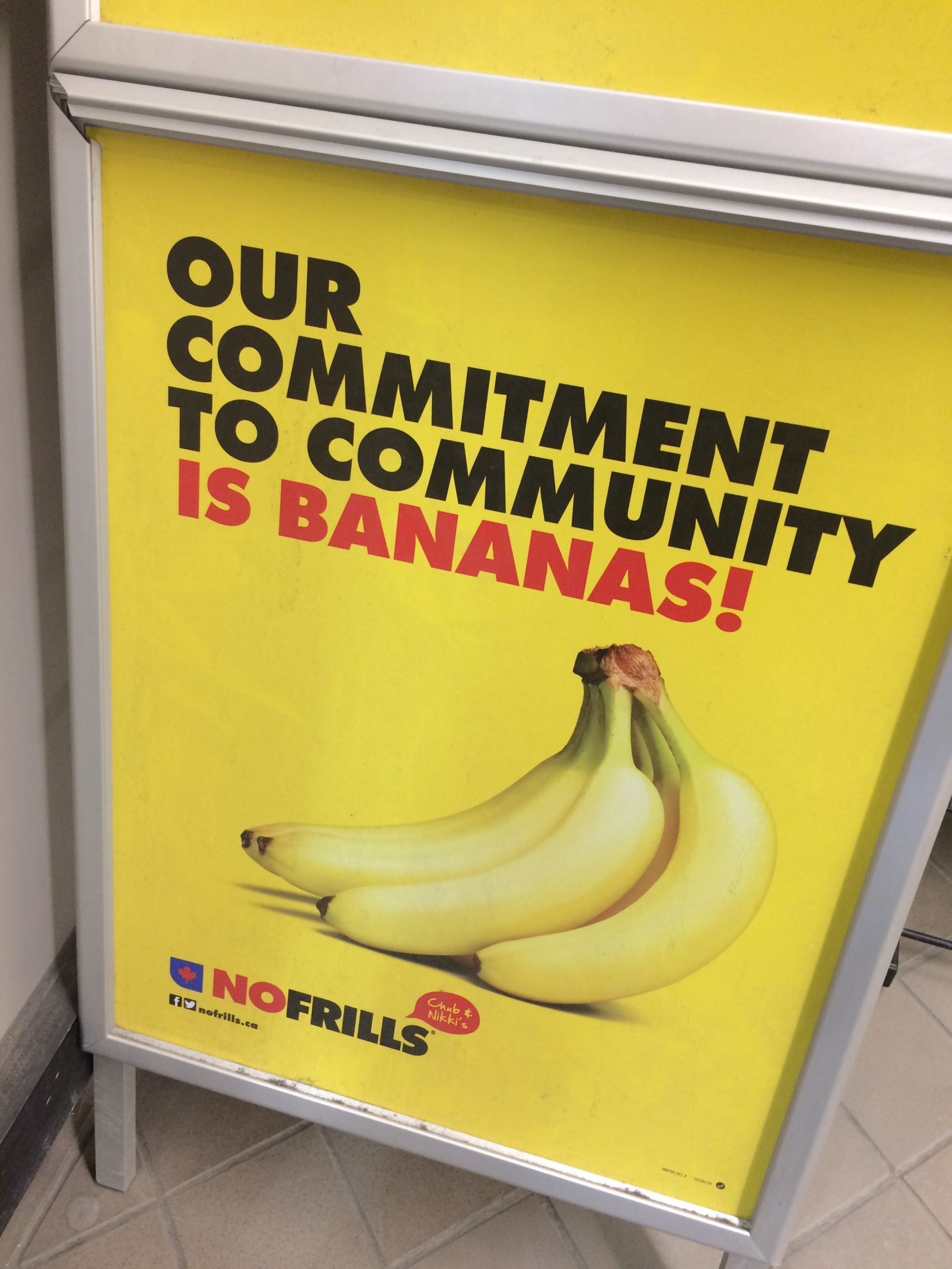 A Letter To No Frills About Offensive Ad – Teaching The No Frills Calendar