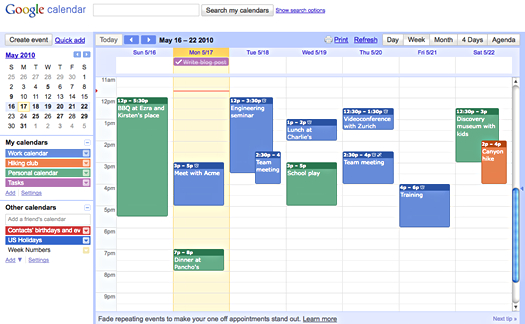 "Amorphous Eclectic | ""Sometimes The Questions Are How To Make A Color Coded Calendar Parenting Time"