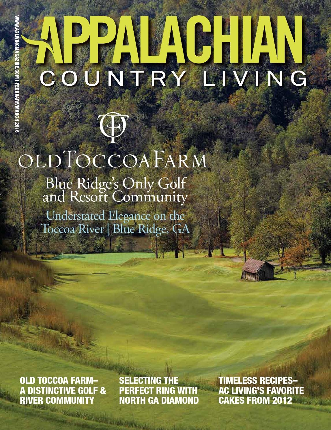 Appalachian Country Living Magazine December 2015/January Understated Calendar In Publisher