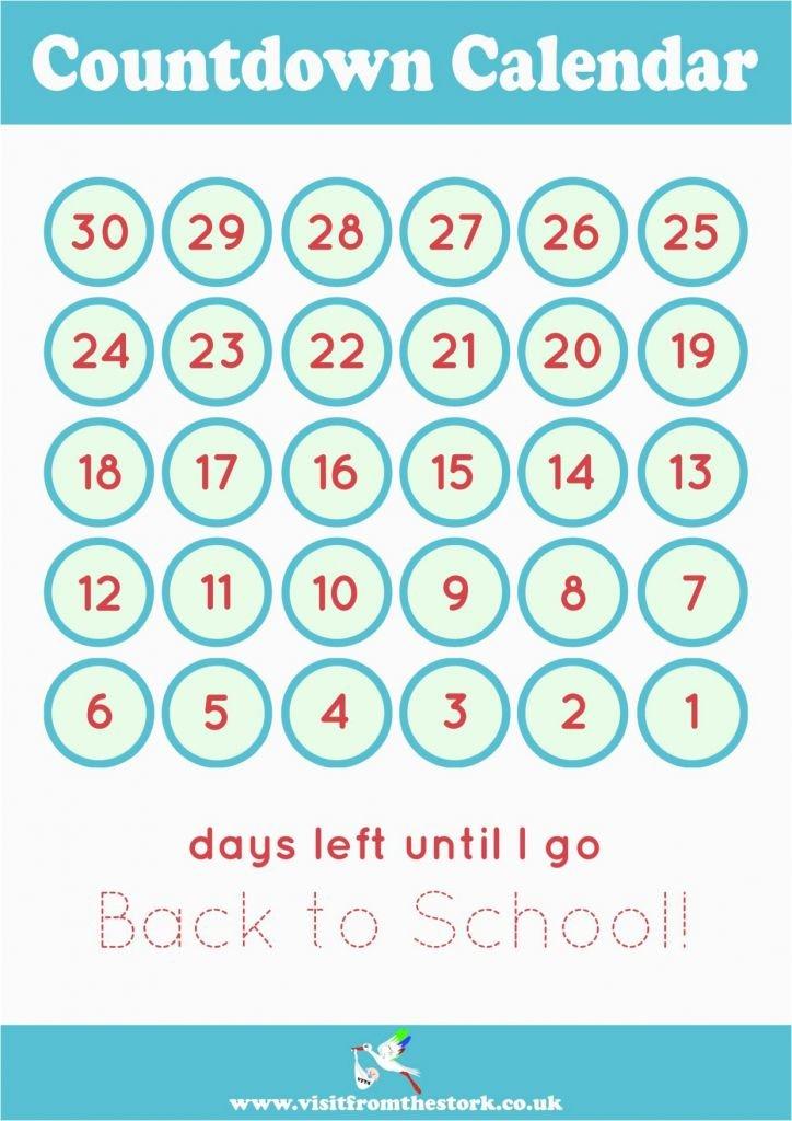 Baby Countdown Calendar Printable - Calendar Templates Pregnancy Countdown Calendar Printable Free