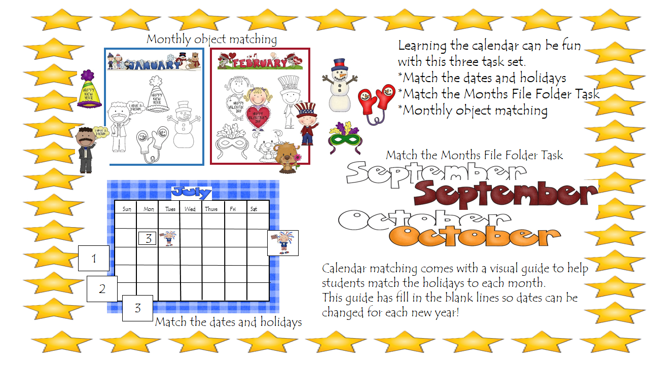 Binder Tasks Calendar | Summer School Activities, Fun Fill In School Schedule