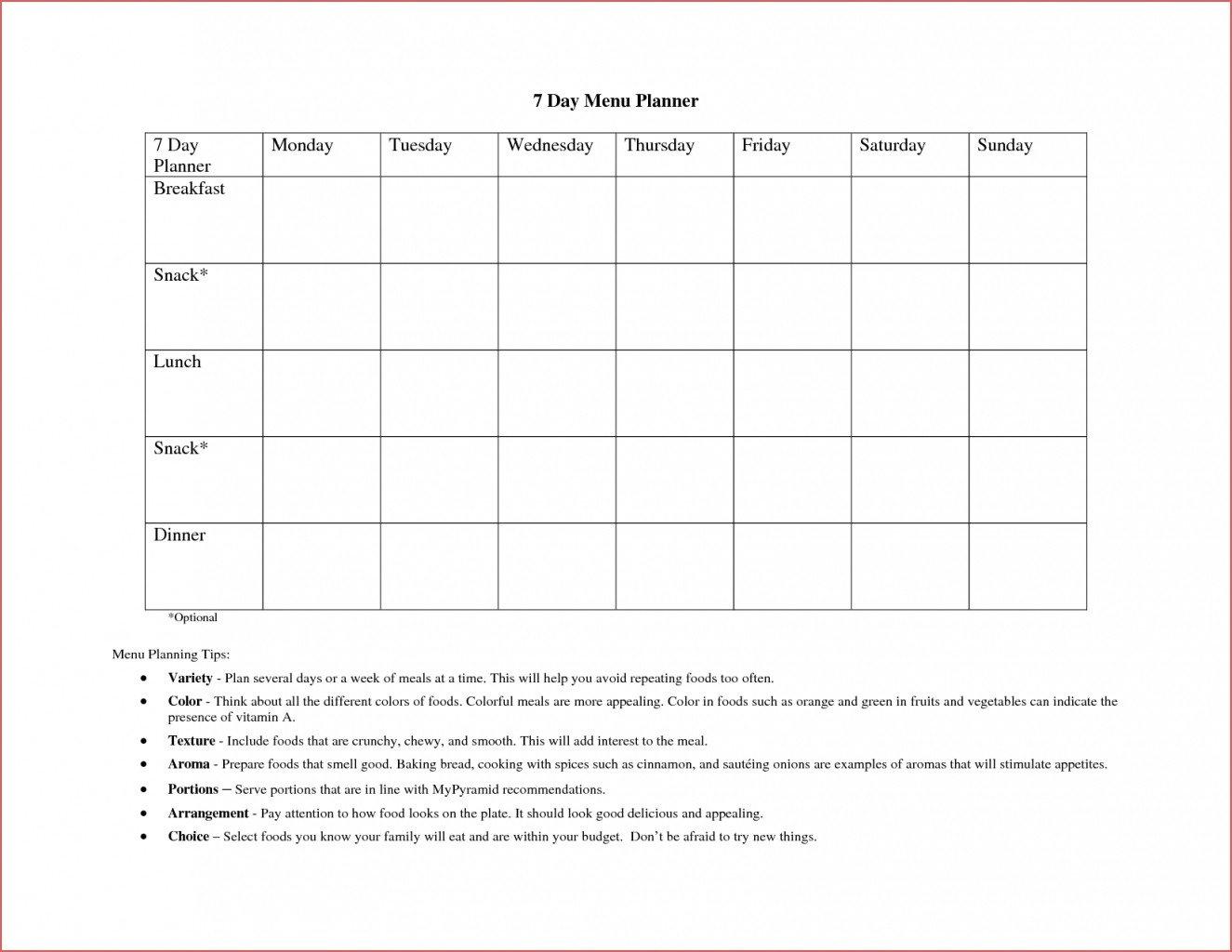 Blank 7 Day Calendar To Print – Calendar Inspiration Design Blank 7 Day Schedule