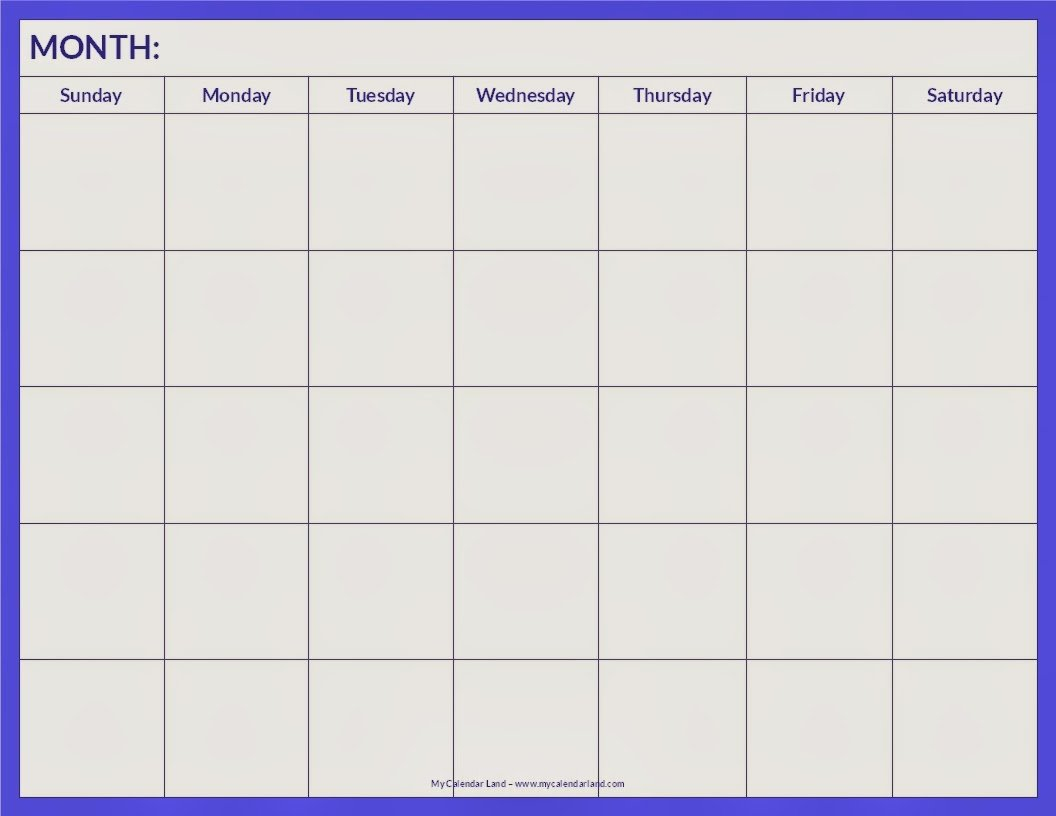 Blank Calendar 2013 - 2014 | Calendars 2018 Kalendar 2018 Blank 4 Week Calendar