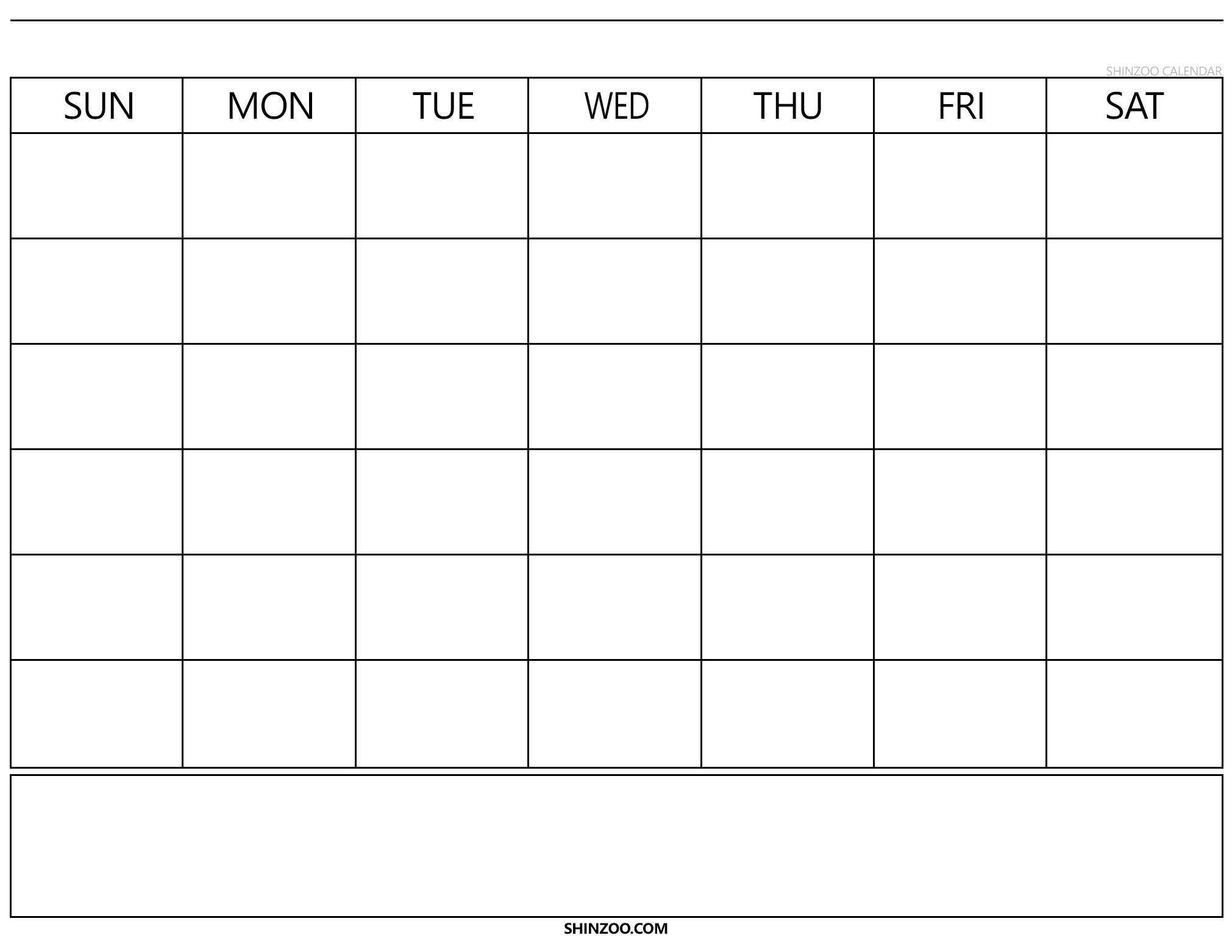 Blank Calendar 2019 2020 To Fill In - Calendar Inspiration Calendars To Fill In And Print