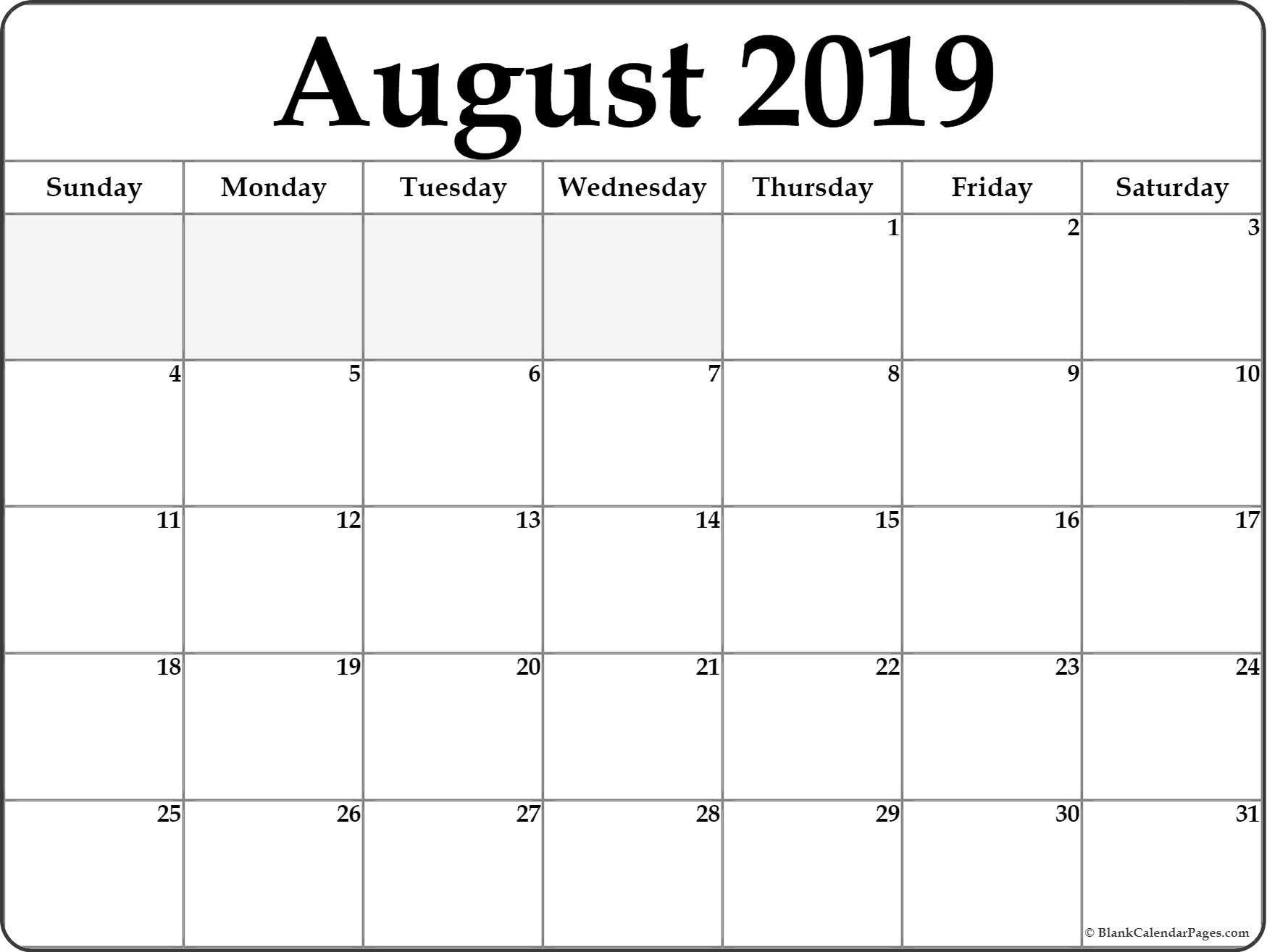 Blank Calendar To Fill In | Calendar Template Printable Free Fill In Calendars