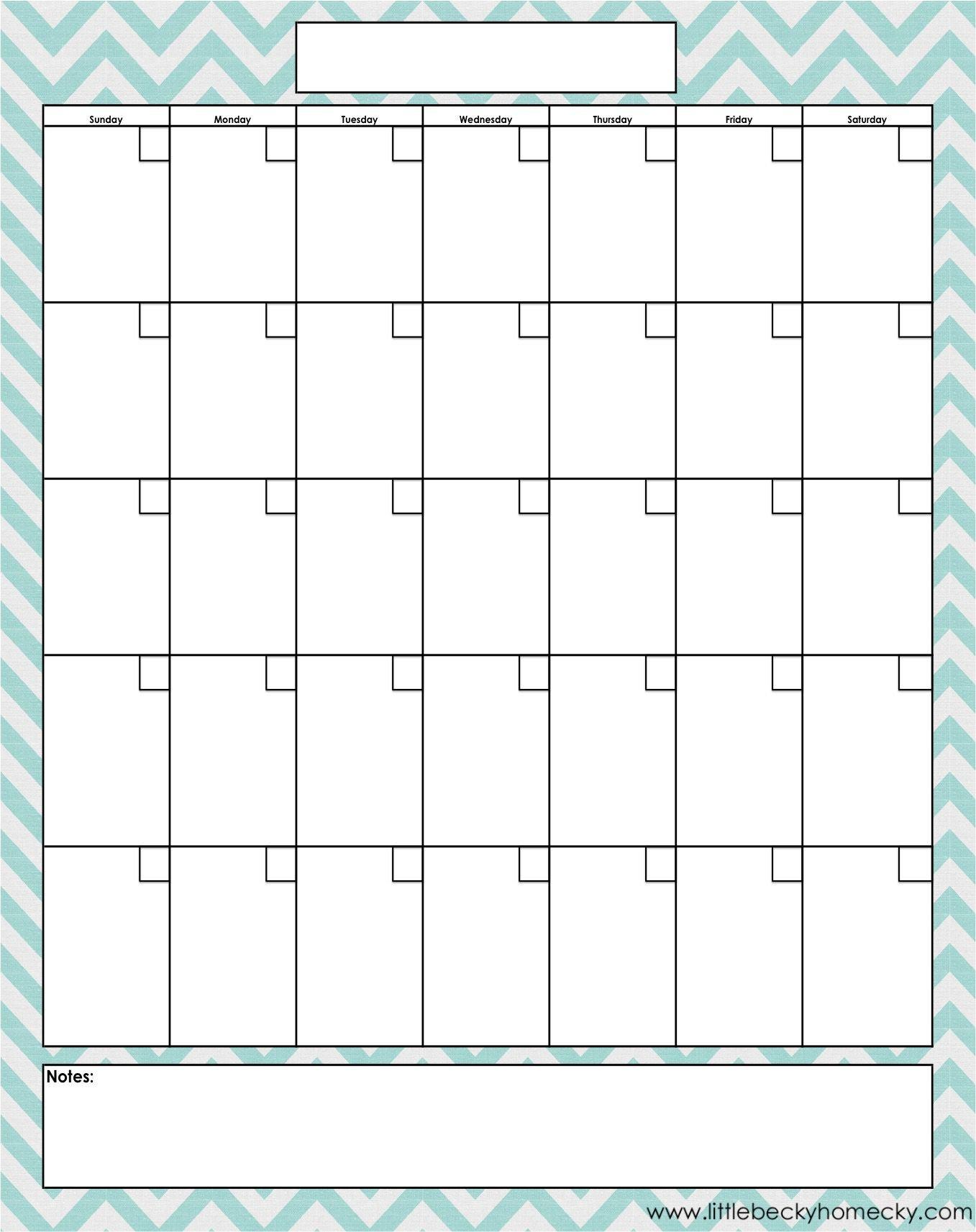 Blank Fill In Calendar | Calendar Template Printable Free Fill In Calendars