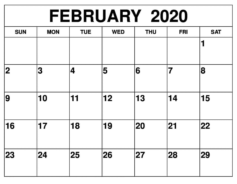 Blank Monthly Calendar 2020 Monday Through Friday Days Monday Through Friday Monthly Calendar