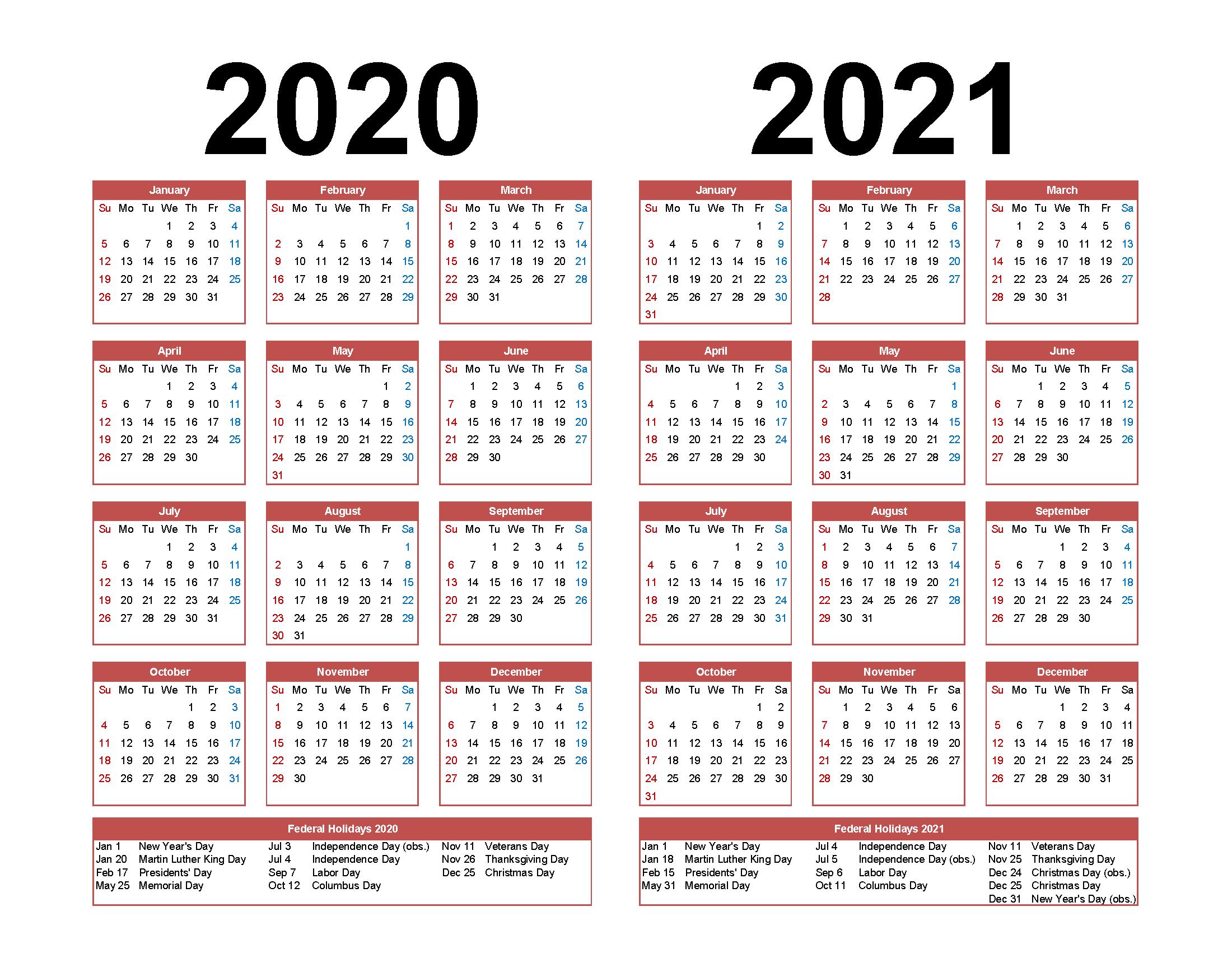 Calendar 2020 At Target | Calendar Printables Free Templates Free Printable 5 Year Calendar