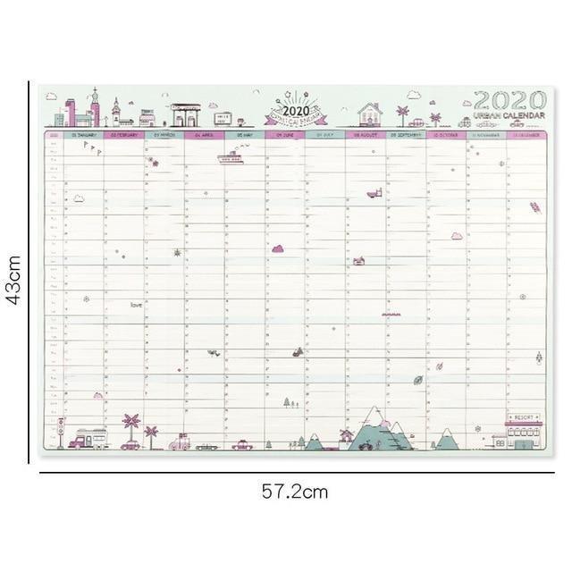 Calendar Wall Calendar 365 Days Countdown Diary Calendar 365 Day Calendar Counter