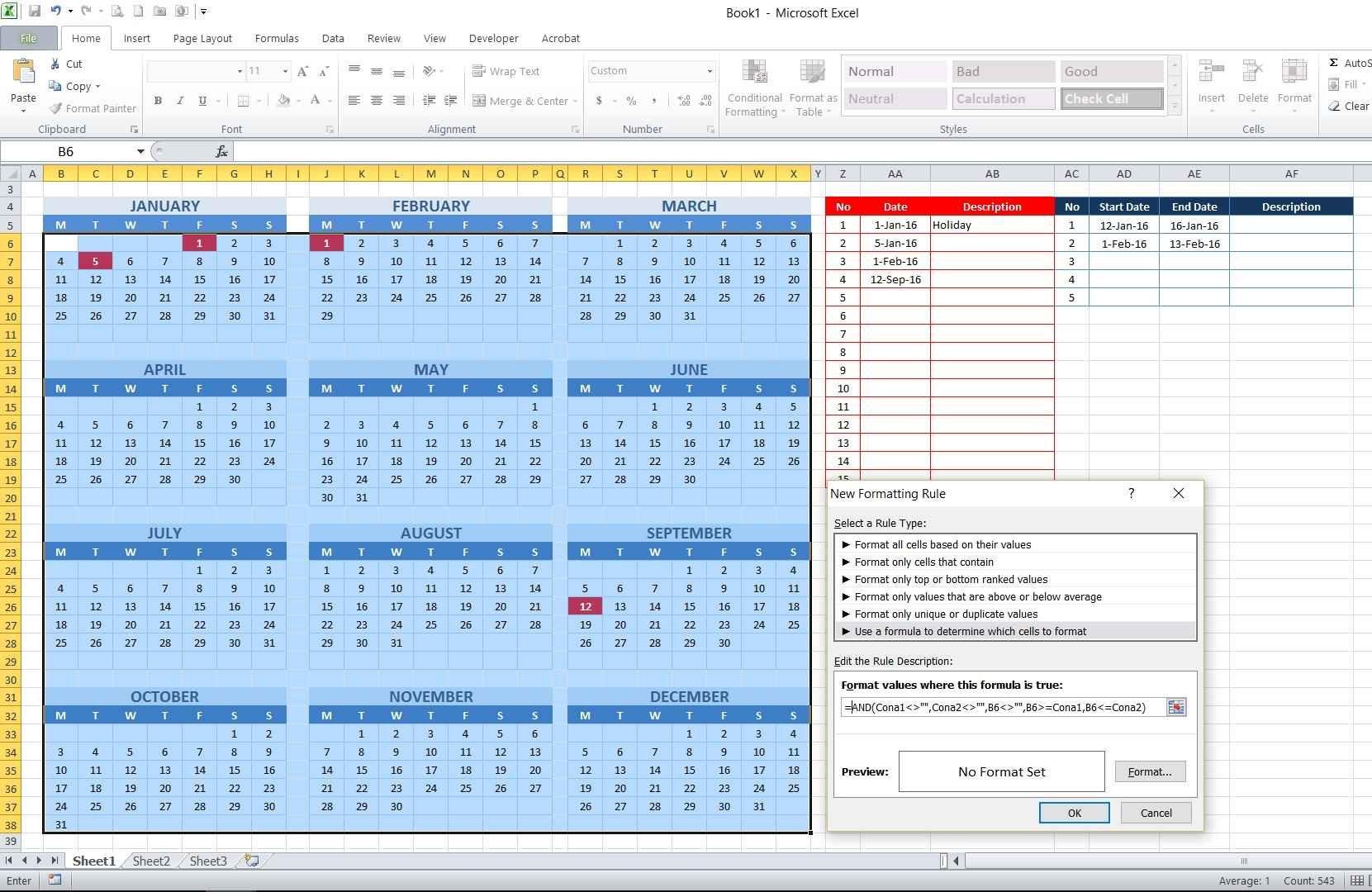 Calendar Year Excel Formula | Calendar Printables Free Excel 5 Year Calendar