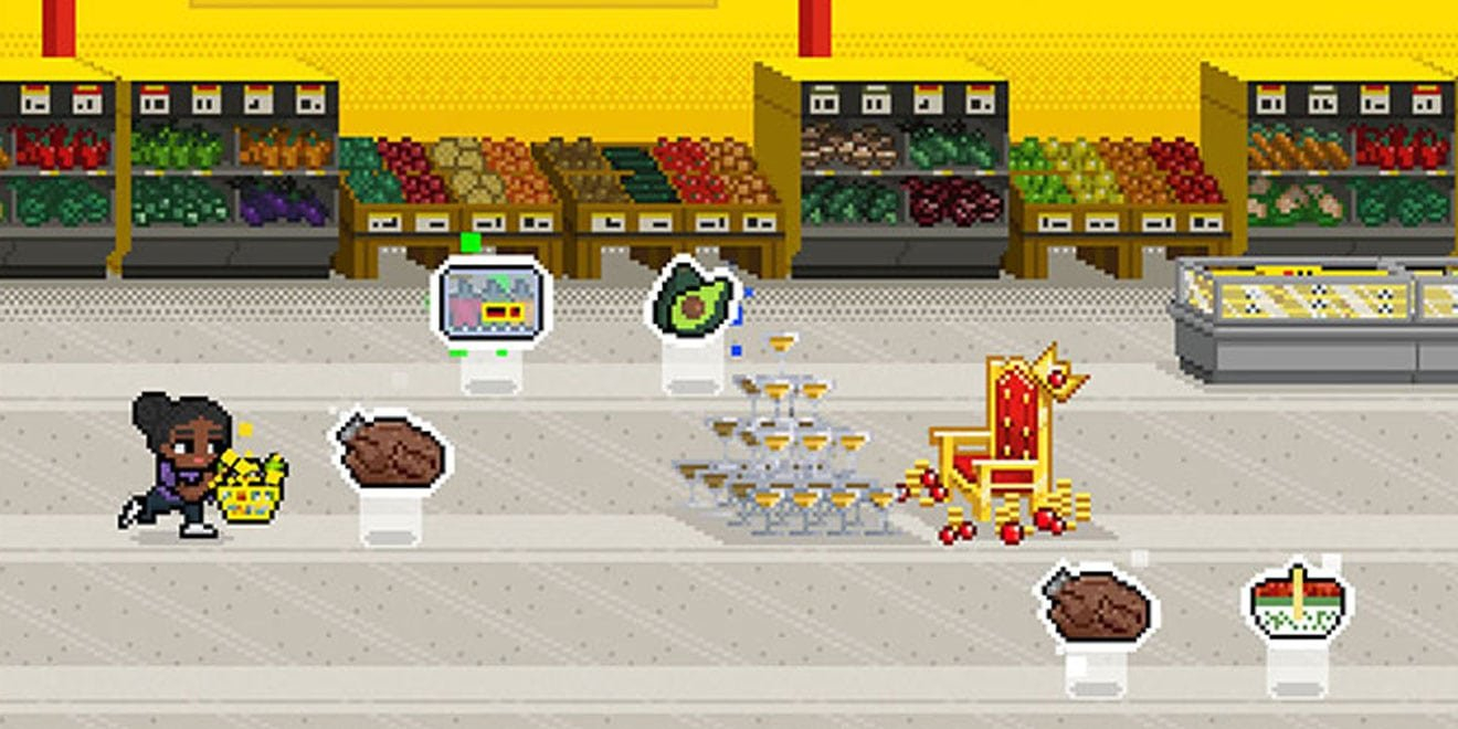 Canadian Discount Grocer No Frills Has Created An 8 Bit The No Frills Calendar