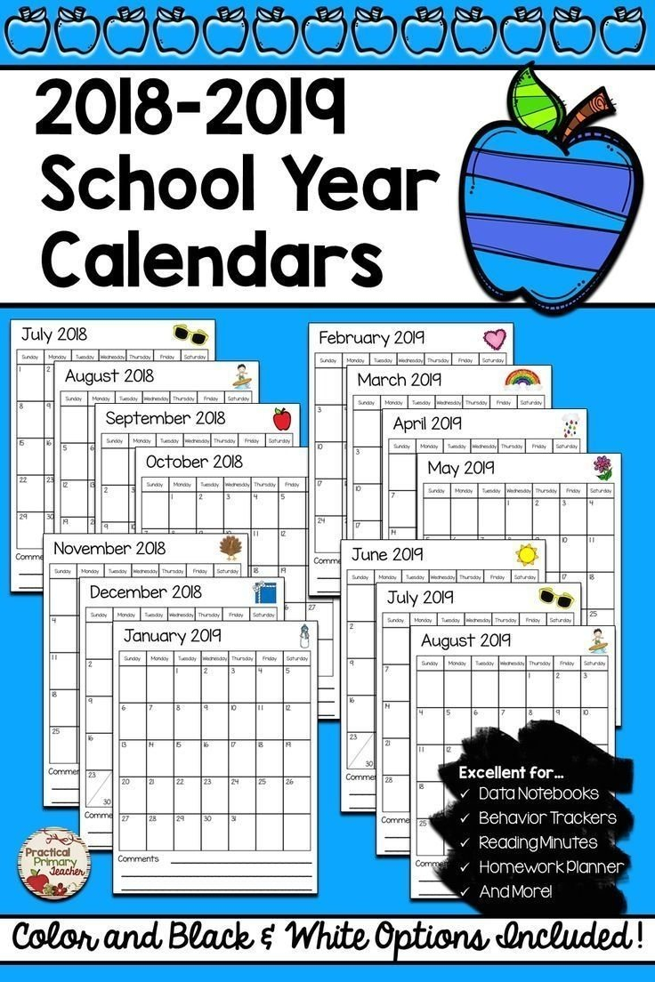 Catch August Calendar For Second Graders To Fill In ⋆ The Fill In School Schedule