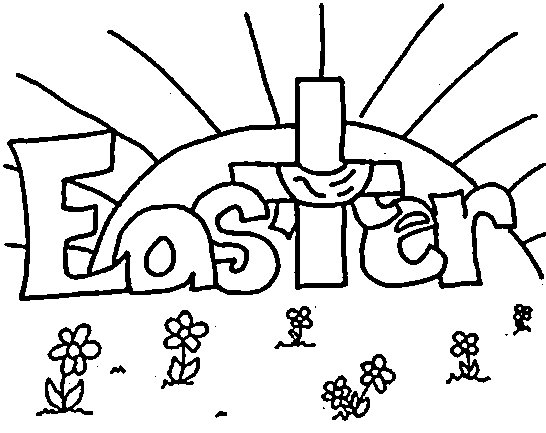 Christian Easter Coloring Pages Free Printable Of Churches