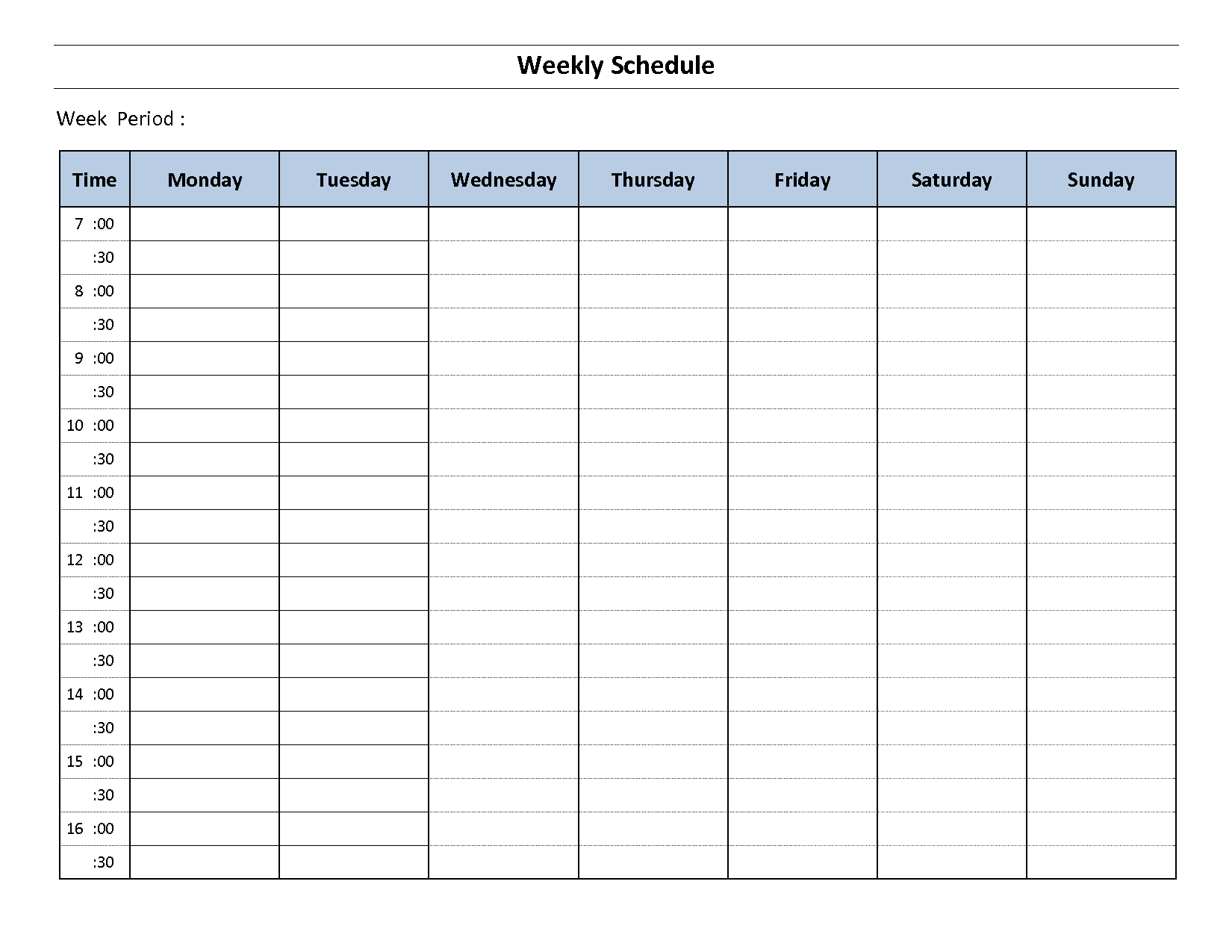 Construction Schedule Template Excel Free Download 7 Day Router Blank