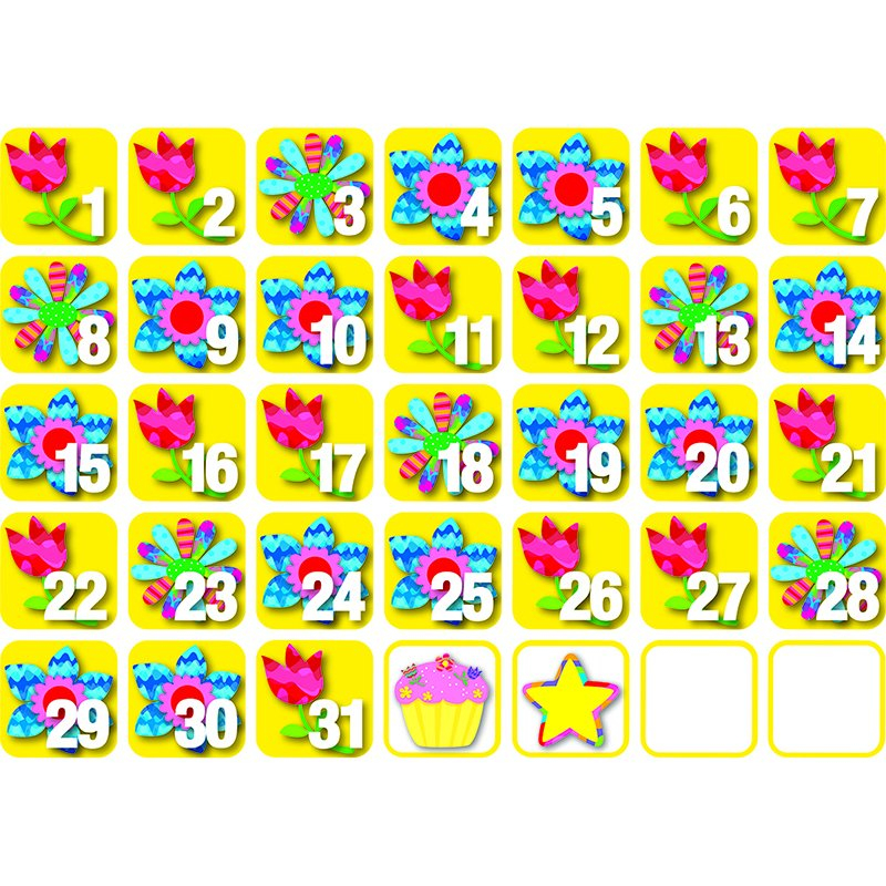 Creative Teaching Press Pp Seasonal Calendar Days May Calendar Numbers 1 31 Printable