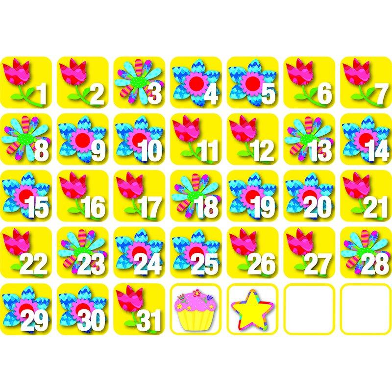 Creative Teaching Press Pp Seasonal Calendar Days May Free Printable Calendar Numbers 1 31