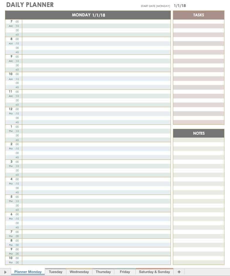 Critical Printable Hourly Calendars   William Blog Daily Calendar By Hour Printable