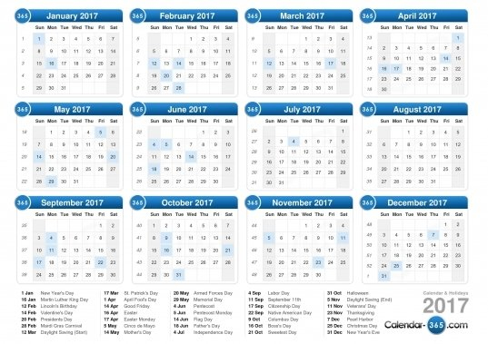 Days Numbered 1 To 365 | Printable Calendar Template 2019 Calendar Numbered Days 365