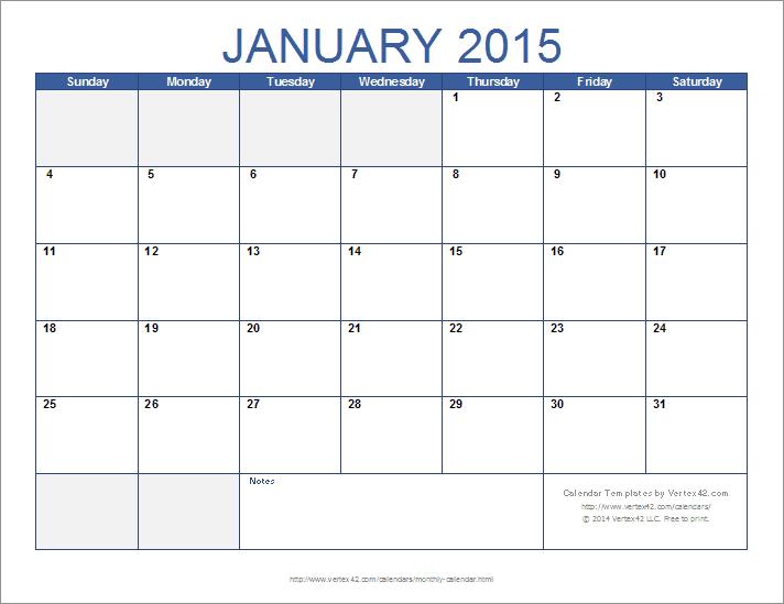 Download The 12-Month Calendar Template From Vertex42 Sprint Days Calendar Excel