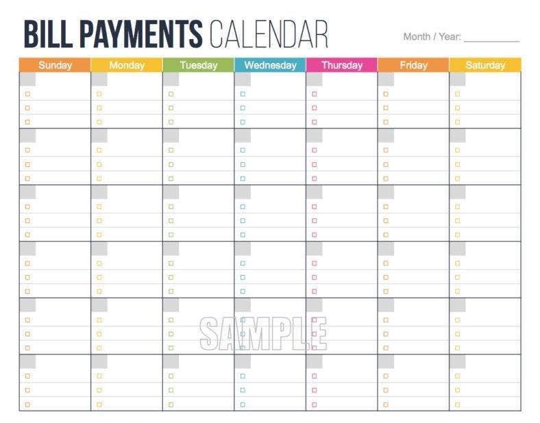 Due Date Log Templates | 6+ Free Printable Word & Excel Free Printable Due Date Calendar