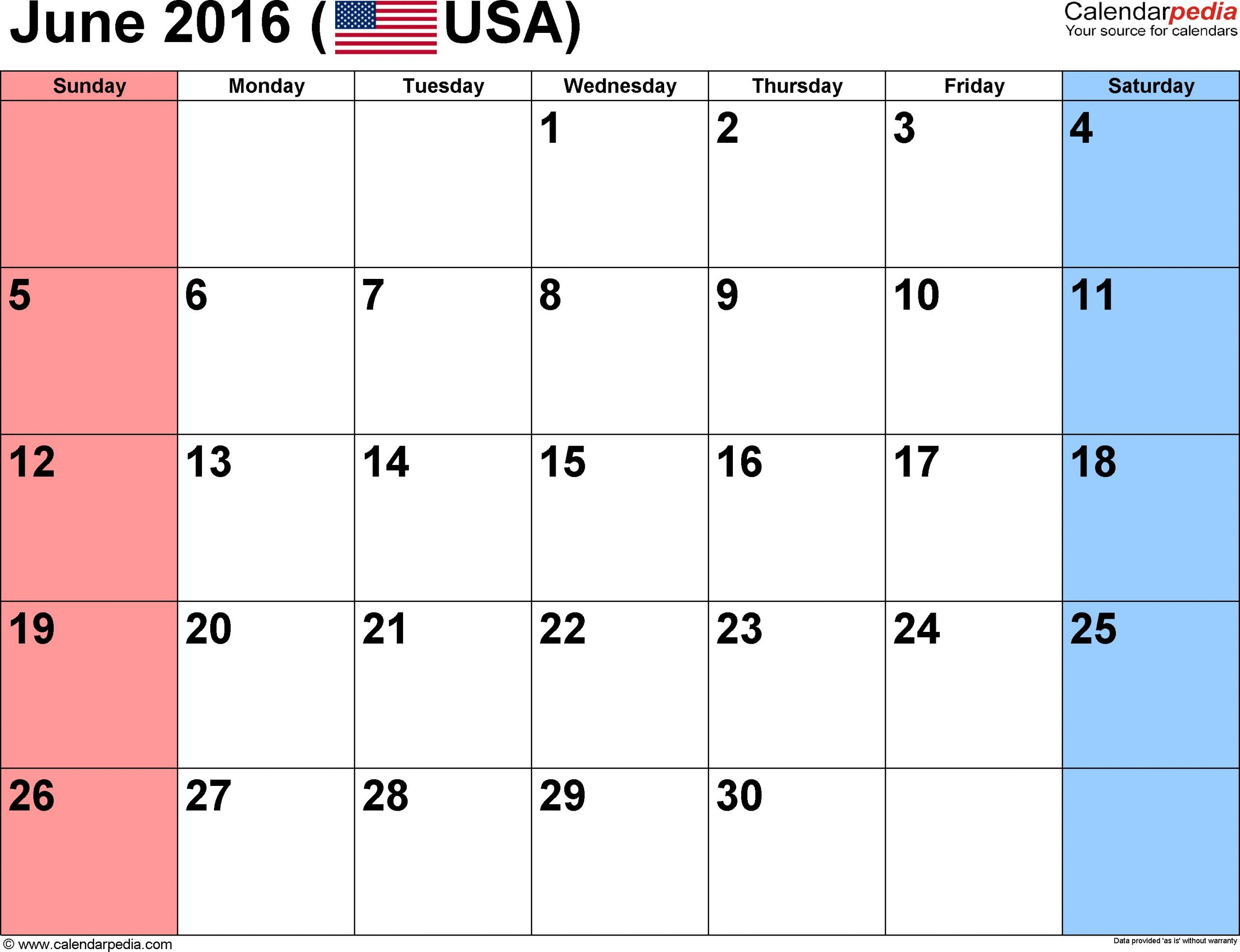 Easy Fill In Calendar June 2016 | Calendar Template 2020 Military Short Timer Calendar Pdf