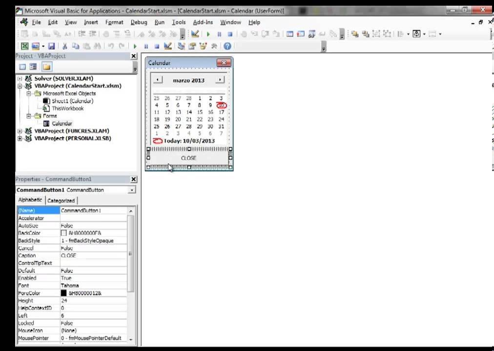 Excel 2013 Video 10 Insert A Calendar Datepicker In A Excel Add Calendar Drop Down Into A Template