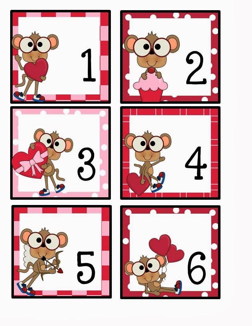 February Calendar Card Freebie | Kindergarten Calendar Free Calendar With Number Cards