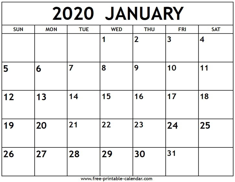 Fill In Calendar Template 2020 | Calendar Template Printable Free Calendar Template To Populate