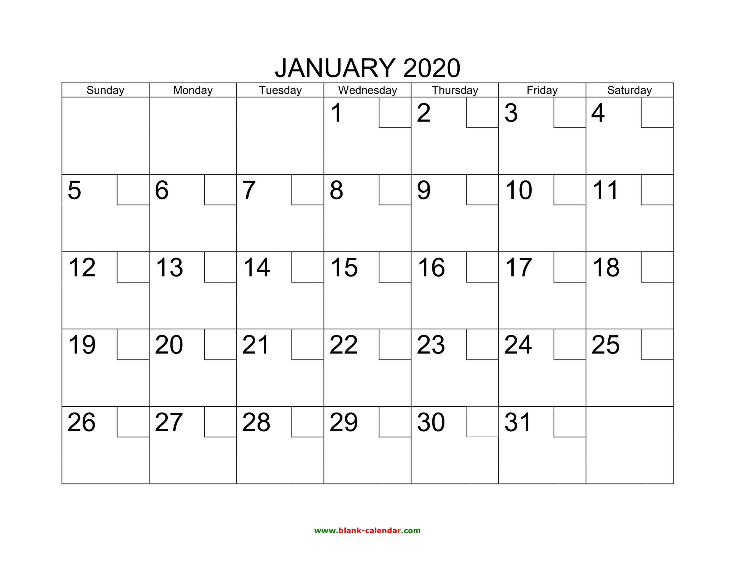 Fill In Monthly Calendar 2020 | Calendar Template Printable Printable Calendar Monthly Fill In