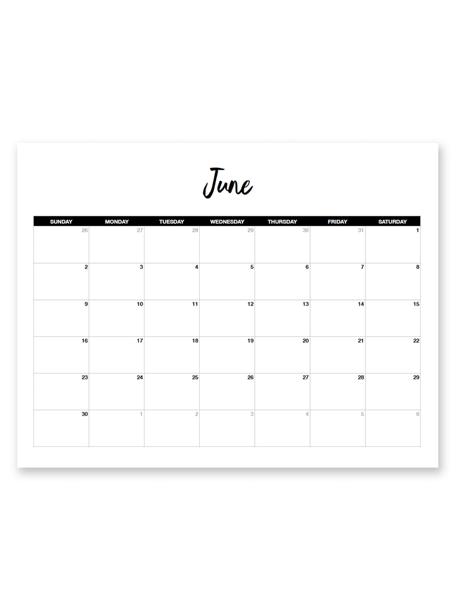 Free 8.5 X 11 Calendars - Calendar Inspiration Design 8.5 X 11 Printer Friendly Calendar