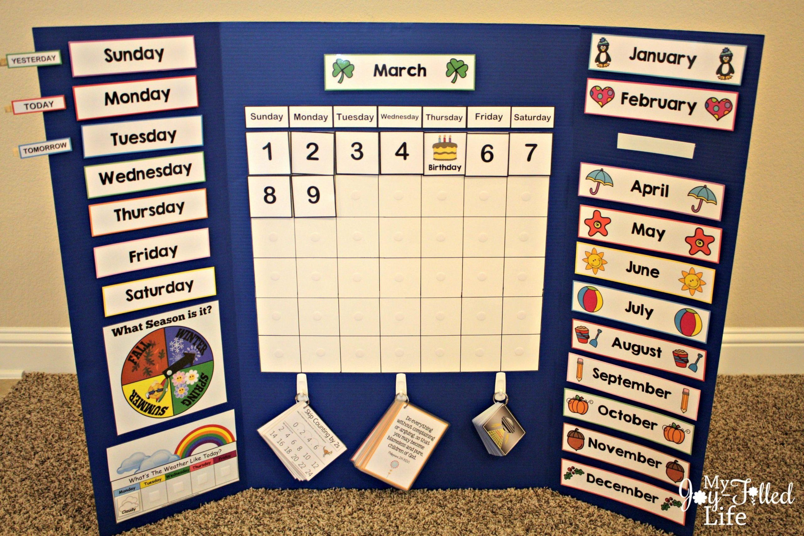 Free Calendar Board Printables | Calendar Board, Preschool Calendar Numbers 1 31 Printable