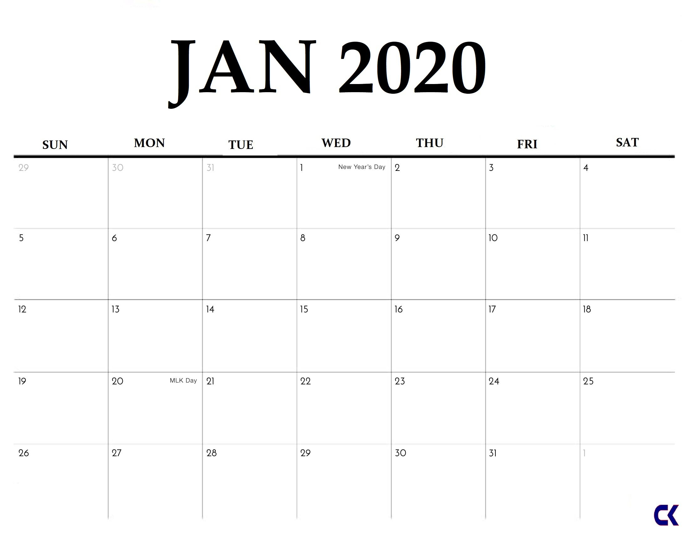 Free Print 2020 Calendars Without Downloading | Calendar Free Printable Calendar Without Downloading