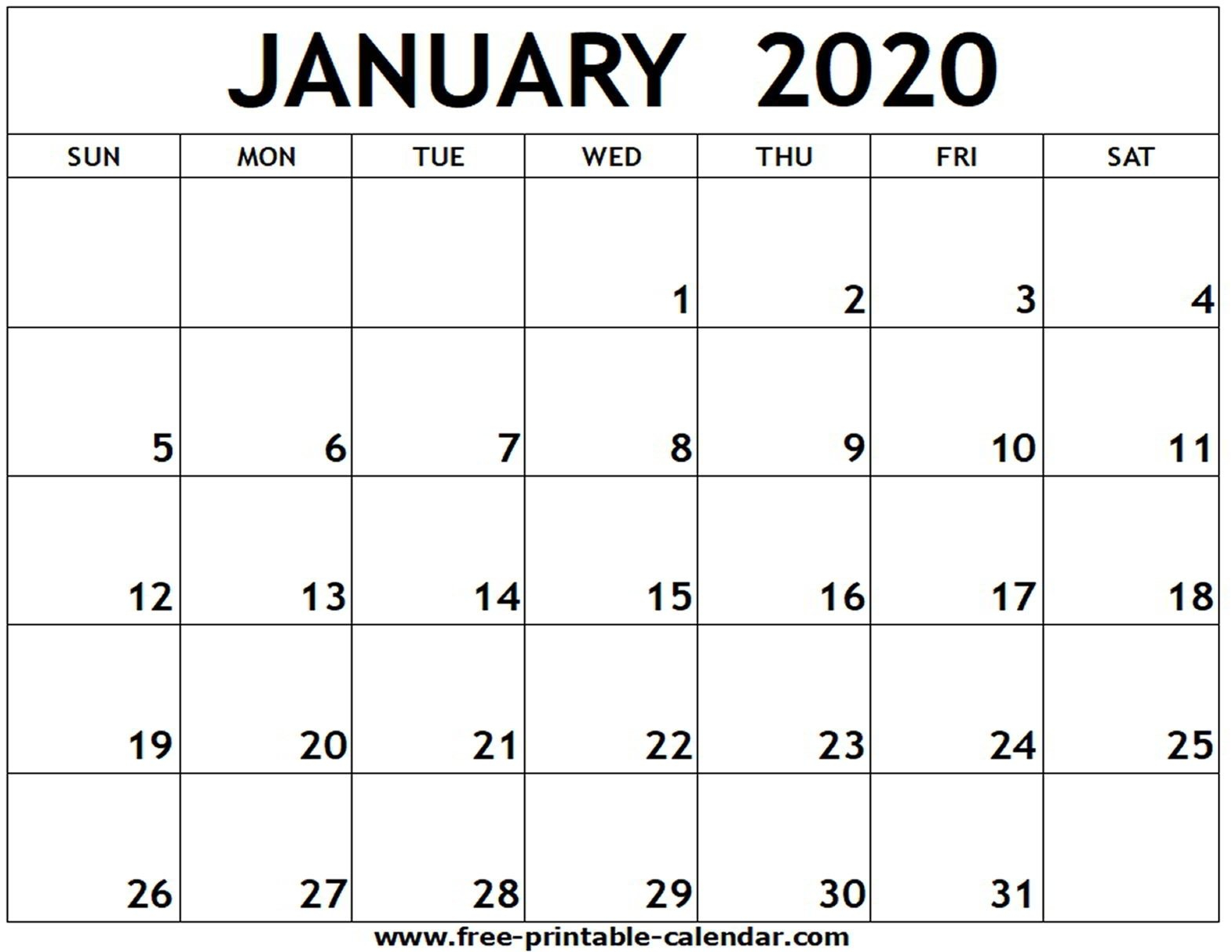 Free Printable 2020 Calendar To I Can Edit - Calendar Calender You Cann Edit With Holidays On It