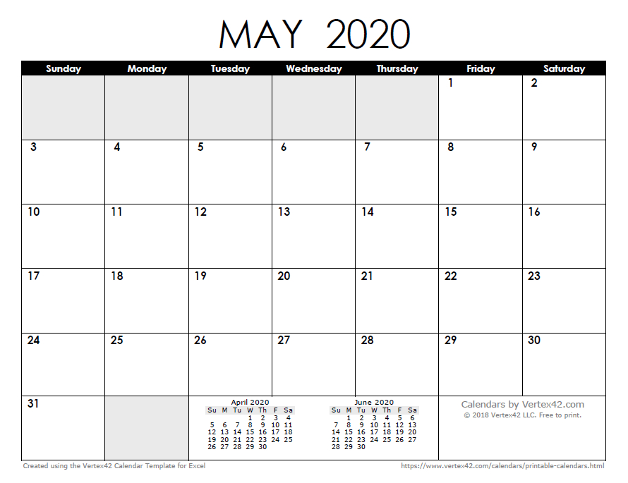 Free Printable Calendar - Printable Monthly Calendars Calendars I Can Edit