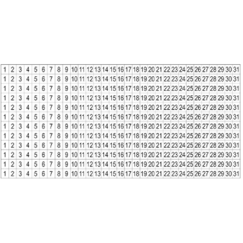 Free Printable Number Labels 1-31 - Calendar Inspiration Calendar Numbers Printable 1-31