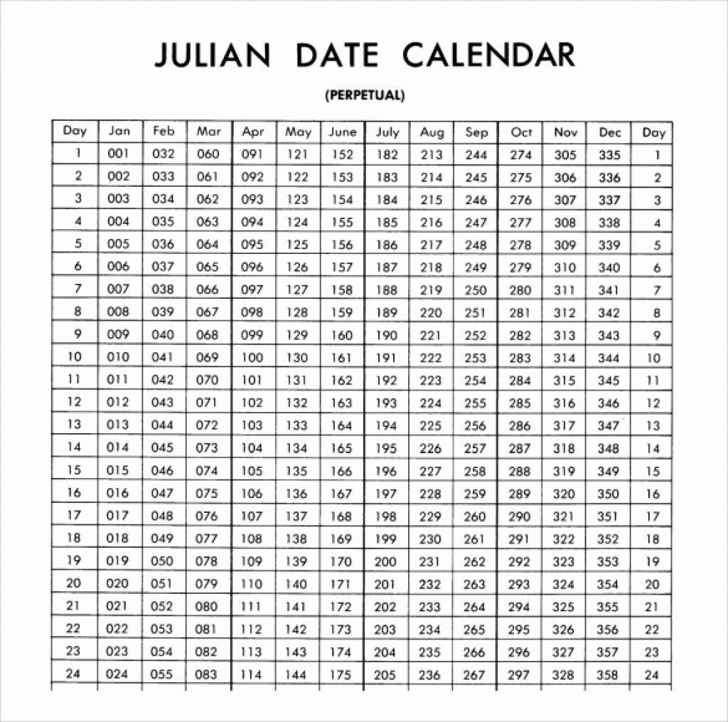 Free Printable Perpetual Julian Calendar - Calendar Depo Provera Leap Year Calendar
