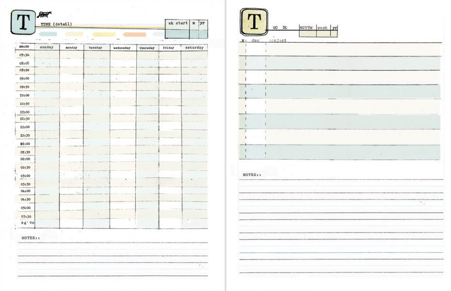 Free Printable Weekly Calendar With Time Slots – Calendar Daily Calendar With Time Slots Imaga